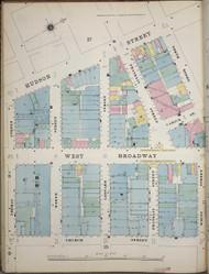 Manhattan, NY Fire Insurance 1894 Sheet 16S-1 V1 - Old Map Reprint - New York