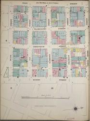 Manhattan, NY Fire Insurance 1894 Sheet 17S-1 V1 - Old Map Reprint - New York