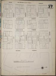 Manhattan, NY Fire Insurance 1894 Sheet 17SS V1 - Old Map Reprint - New York