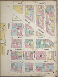 Manhattan, NY Fire Insurance 1894 Sheet 18 L V1 - Old Map Reprint - New York