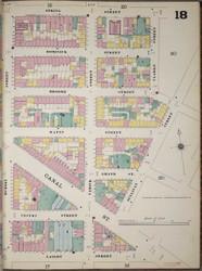 Manhattan, NY Fire Insurance 1894 Sheet 18 R V1 - Old Map Reprint - New York
