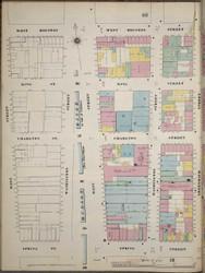 Manhattan, NY Fire Insurance 1894 Sheet 19 L V1 - Old Map Reprint - New York