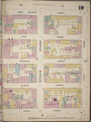Manhattan, NY Fire Insurance 1894 Sheet 19 R V1 - Old Map Reprint - New York