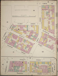 Manhattan, NY Fire Insurance 1894 Sheet 20 L V1 - Old Map Reprint - New York