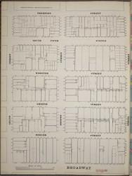 Manhattan, NY Fire Insurance 1894 Sheet 21 S V1 - Old Map Reprint - New York