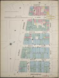 Manhattan, NY Fire Insurance 1894 Sheet 21 W V1 - Old Map Reprint - New York