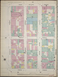 Manhattan, NY Fire Insurance 1894 Sheet 22 W V1 - Old Map Reprint - New York