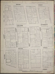 Manhattan, NY Fire Insurance 1894 Sheet 23 S V1 - Old Map Reprint - New York