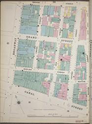 Manhattan, NY Fire Insurance 1894 Sheet 23 W V1 - Old Map Reprint - New York