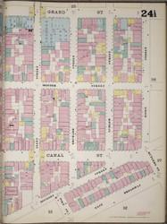Manhattan, NY Fire Insurance 1894 Sheet 24 1/2 R V1 - Old Map Reprint - New York