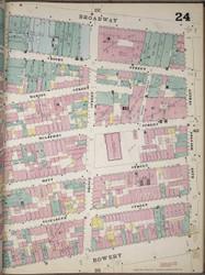 Manhattan, NY Fire Insurance 1894 Sheet 24 R V1 - Old Map Reprint - New York