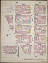Manhattan, NY Fire Insurance 1894 Sheet 26 L V1 - Old Map Reprint - New York