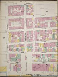 Manhattan, NY Fire Insurance 1894 Sheet 28 L V1 - Old Map Reprint - New York