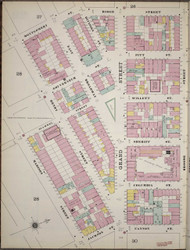 Manhattan, NY Fire Insurance 1894 Sheet 29 L V1 - Old Map Reprint - New York