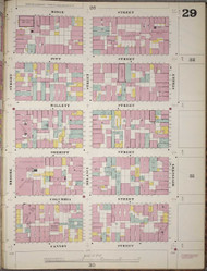 Manhattan, NY Fire Insurance 1894 Sheet 29 R V1 - Old Map Reprint - New York
