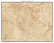 Dover 1898 - Custom USGS Old Topo Map - Vermont