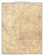 Halifax 1898 - Custom USGS Old Topo Map - Vermont