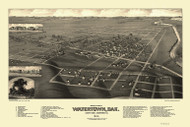 Watertown, South Dakota 1883 Bird's Eye View