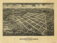 South Rocky Mount, North Carolina 1900 Bird's Eye View