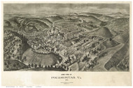 Pocahontas, Virginia 1911 Bird's Eye View