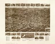 Hammonton, New Jersey 1926 Bird's Eye View