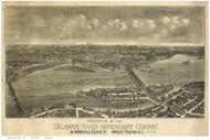 Trenton, New Jersey 1900 Bird's Eye View