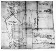 Keene 1734 Massachusetts Archives - Old Map Reprint - New Hampshire Towns Other