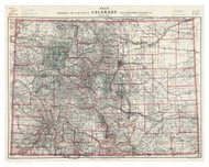 Colorado 1905 Nell - Old State Map Reprint