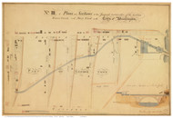 Potomac River Canal Proposal - Map 4 of 4 - ca. 1800 - Washington DC - Old Map Reprint DC Specials
