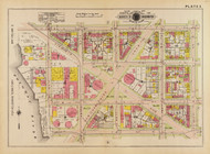 Plate 3, Virginia Ave. - Washington DC 1919 Atlas Old Map Reprint - Baist Vol.1