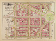 Plate 6, Dupont Circle - Washington DC 1919 Atlas Old Map Reprint - Baist Vol.1