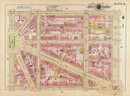Plate 13, 18th St. - Washington DC 1919 Atlas Old Map Reprint - Baist Vol.1