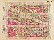 Plate 35, St. Mary's Church - Washington DC 1919 Atlas Old Map Reprint - Baist Vol.1
