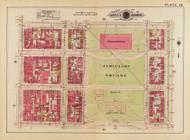 Plate 36, Judiciary Square - Washington DC 1919 Atlas Old Map Reprint - Baist Vol.1