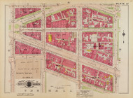 Plate 37, Louisiana Ave. - Washington DC 1919 Atlas Old Map Reprint - Baist Vol.1