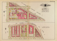 Plate 38, Cleveland Place - Washington DC 1919 Atlas Old Map Reprint - Baist Vol.1