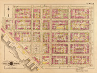 Plate 3, River St. - Washington DC 1921 Atlas Old Map Reprint - Baist Vol.2