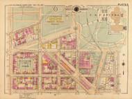 Plate 5, U.S. Botanical Gardens - Washington DC 1921 Atlas Old Map Reprint - Baist Vol.2