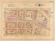 Plate 6, P.B.&W. Railroad - Washington DC 1921 Atlas Old Map Reprint - Baist Vol.2