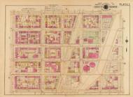 Plate 7, Cardozo Public School - Washington DC 1921 Atlas Old Map Reprint - Baist Vol.2