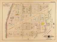 Plate 9, Potomac Ave. - Washington DC 1921 Atlas Old Map Reprint - Baist Vol.2