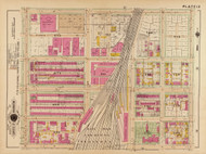 Plate 12, Railroad Terminal - Washington DC 1921 Atlas Old Map Reprint - Baist Vol.2