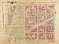 Plate 14, U.S. Senate Offices - Washington DC 1921 Atlas Old Map Reprint - Baist Vol.2