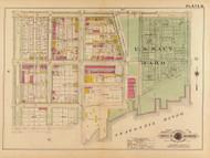 Plate 18, U.S. Navy Yard - Washington DC 1921 Atlas Old Map Reprint - Baist Vol.2
