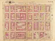 Plate 20, Morris Place - Washington DC 1921 Atlas Old Map Reprint - Baist Vol.2