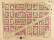 Plate 22, North Carolina Ave. - Washington DC 1921 Atlas Old Map Reprint - Baist Vol.2