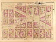 Plate 23, Marion - Washington DC 1921 Atlas Old Map Reprint - Baist Vol.2