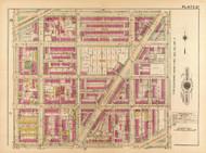 Plate 27, Emerson St. - Washington DC 1921 Atlas Old Map Reprint - Baist Vol.2