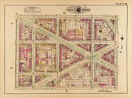 Plate 30, Ives Place - Washington DC 1921 Atlas Old Map Reprint - Baist Vol.2