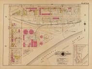 Plate 31, Anacostia River - Washington DC 1921 Atlas Old Map Reprint - Baist Vol.2